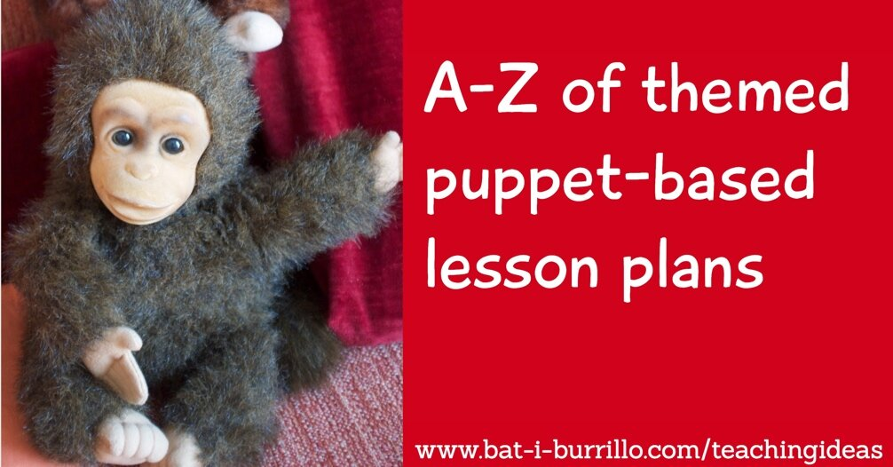 A-Z+of+themed+puppet+based+lesson+plans
