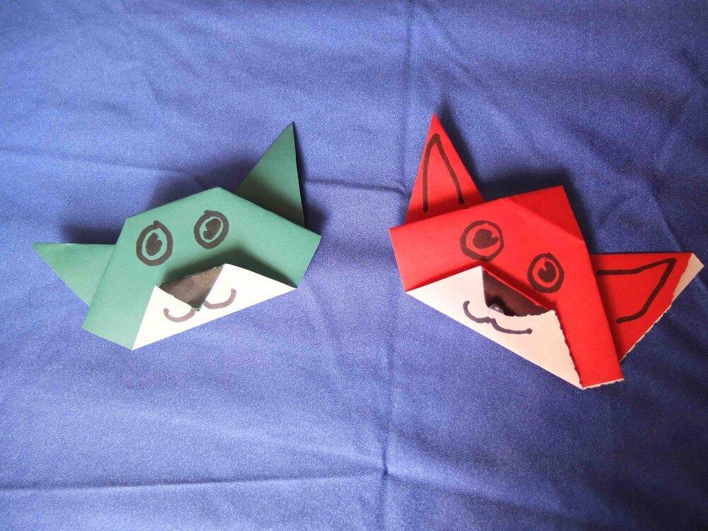 origami+fox