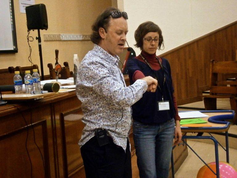 Participación del público en 'Teatro de la Mente'