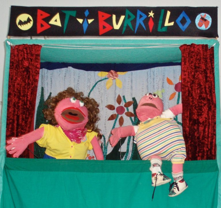 Puppets from 'The Case of the Missing Cake'