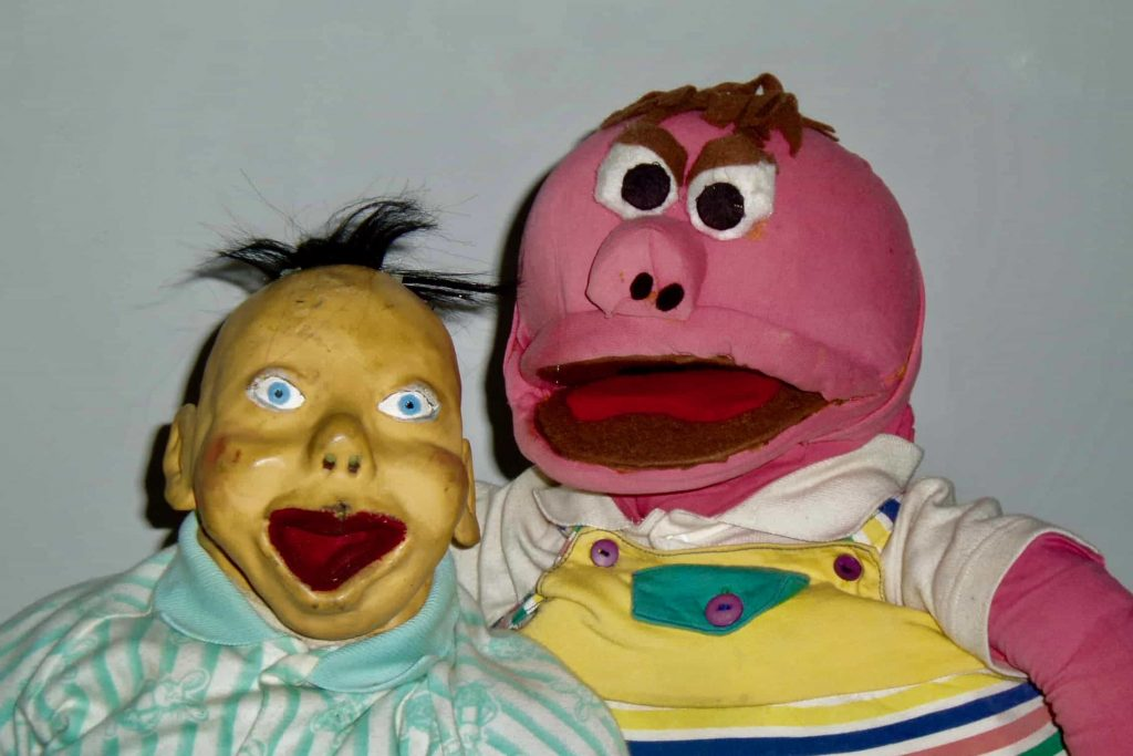 puppet stars of shows for children