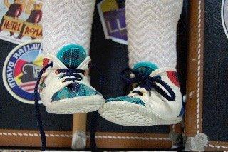 show-en-una-maleta: piernas de títere
